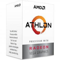 Процессор AMD Athlon 3000G (2C/4T, 3,5 ГГц, AM4, BOX) YD3000C6FHBOX