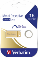 Накопитель USB Flash 16Гб Verbatim Metal Executive USB 3.0 (99104)
