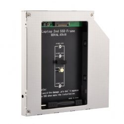 Адаптер optibay Gembird 9,5 мм для SSD M.2 A-SATA95M2-01