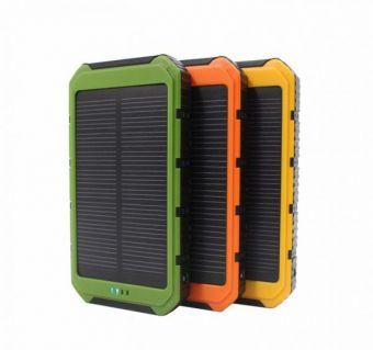 """Внешний АКБ """"Solar Charger"""" Li-Pol 8000 mAh (зеленый/коробка)"""