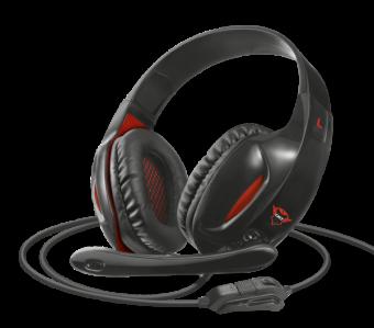 Наушники с микрофоном TRUST GXT 330 XL ENDURANCE Gaming Headset 2x3pin/1x4pin