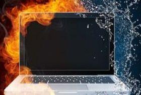 Как избежать перегрева ноутбука?