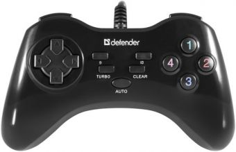 Геймпад Wireless Defender Game Master G2 USB, 13 кнопок, (64258)