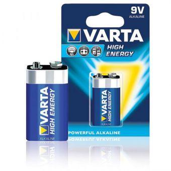 Батарейки Varta 4922 HIGH ENERGY LR22 BL1