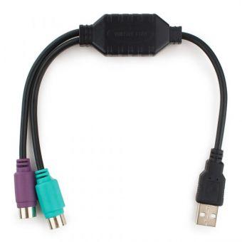 Переходник Gembird USB - >2x PS/2