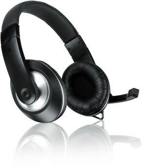 Наушники с микрофоном Speedlink THEBE CS SL-8727-BK-01