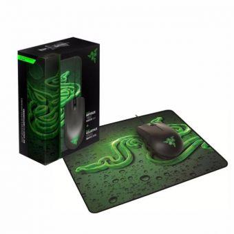 Мышь+коврик Razer Abyssus + Goliathus (Control) Black USB