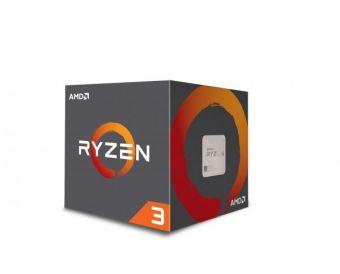Процессор AMD AM4 Ryzen 3 1200 до 3.4 ГГц, 4 ядра, BOX