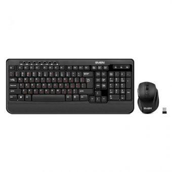 Комплект клавиатура + мышь беспроводной SVEN Comfort 3500
