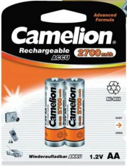 Аккумулятор R6 2700mAh Camelion Ni-Mh (BL-2)