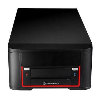 Корпус Thermaltake Black Element Qi DeskTop Mini-iTX 200W VL52021N2E/VL520B1N2E