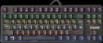 Клавиатура игровая механическая Defender Stalker GK-170L RU
