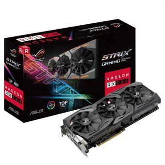 Видеокарта ASUS ROG STRIX AMD Radeon RX 580 GDDR5 8 Гб TOP ( ROG-STRIX-RX580-T8G-GAMING )
