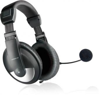 Наушники с микрофоном Speedlink THEBE CS SL-8743-BK