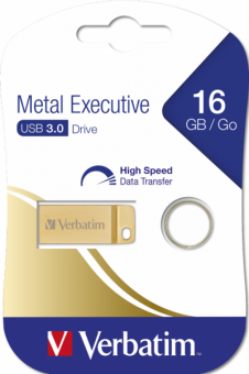 Накопитель USB Flash 16Гб Verbatim Metal Executive USB 3.0 (99104)