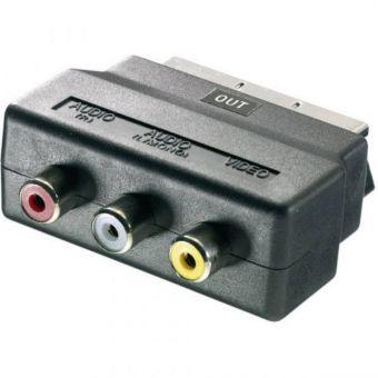Адаптер SCART-RCA