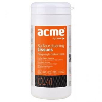 Чистящие салфетки ACME, т/у, 100 шт