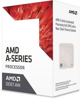 Процессор AMD A8-9600 (AM4, 4 ядра до 3,4ГГц, R7 900МГц) BOX