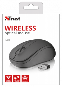 Беспроводная мышь Trust Ziva Wireless Compact Mouse