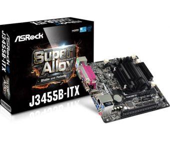 Материнская плата с процессором ASRock J3455B-ITX