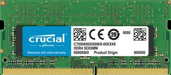 Оперативная память SODIMM DDR4 4Гб 2400МГц CRUCIAL CT4G4SFS824A