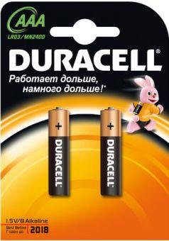Батарейки Duracell LR3 BASIC (BL-2)