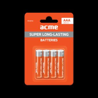 Элемент питания ACME AAA Long life R03C (цена за 4 шт.)