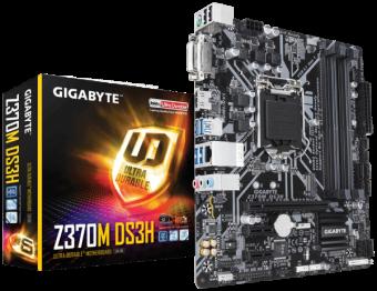 Материнмкая плата Gigabyte Z370M DS3H 1151