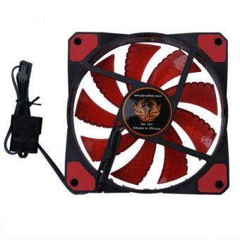 Вентилятор 120 мм TRACER Red OEM (TRAOBU44233)