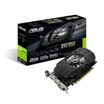 Видеокарта ASUS GeForce GTX1050 2Гб GDDR5 (PH-GTX1050-2G)