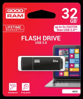 Накопитель USB3.0 Flash 32Гб GOODRAM UEG3 (UEG3-0320K0R11)
