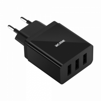 Зарядное устройство ACME CH206 3,4A (3xUSB)