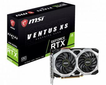 Видеокарта MSI GeForce GTX 1660 6GB GDDR5 (GTX 1660 VENTUS XS 6G OCV1)