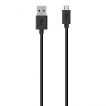 Кабель Belkin USB - microUSB 1,2 м (F2CU012bt04-BLK)