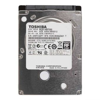 """Жесткий диск 2.5"""" 500Gb Toshiba MQ01ABF050"""