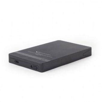 """Кейс для жёсткого диска 2,5"""" Gembird EE2-U31S-2 USB3.1 Type-C"""