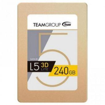 """Твердотельный накопитель SSD2.5"""" 240Gb Team Group L5 Lite 3D series SATA3"""