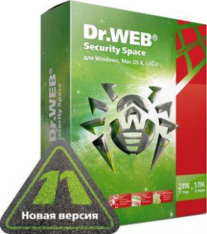 ПО Dr.Web Security Space 12 месяцев 2 ПК AHW-B-12M-2-A2