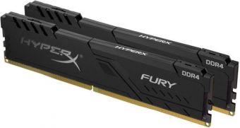 Оперативная память DDR4 2666GHz 16Gb(2*8Gb) Kingston HyperX FURY