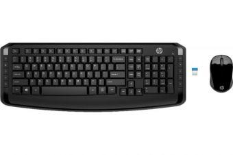 Комплект беспроводной клавиатура+мышь HP 300 (3ML04AA)