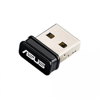 Сетевой адаптер беспроводной Asus USB-N10 NANO (90IG00J0-BU0N00)
