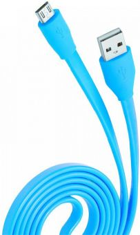 Кабель OLMIO USB2.0 -> Micro-USB 1м, 2,1A (038700)