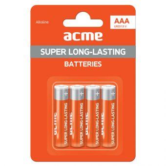 Батарейки ACME AAA Alkaline LR03 (цена за 4 шт.)
