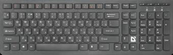 Клавиатура беспроводная Defender UltraMate SM-535 (45535)