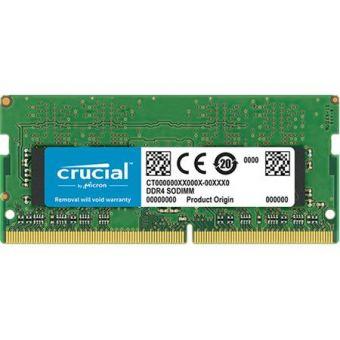 Оперативная память DDR4 SODIMM 8Gb 2666MHz Crucial CT8G4SFS8266