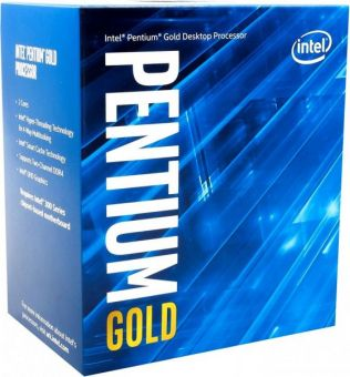 Процессор Intel Pentium Gold G5400 BOX 3.7 GHz, 2/4