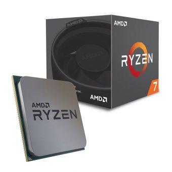 Процессор AMD Ryzen 7 2700 AM4 (до 4,1 ГГц, 8/16) 65W BOX