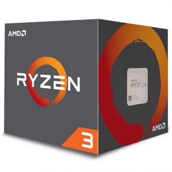 Процессор AMD Ryzen 3 1300X AM4 (4C/4T, 3,5 - 3,7 ГГц) YD130XBBAEBOX