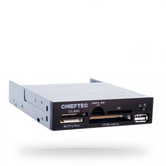"""Карт-ридер CHIEFTEC <CRD-501D> внутренний all-in-one 3.5"""""""
