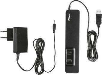 Концентратор TRUST Oila 7 Port USB 2.0 Hub с блоком питания 20576
